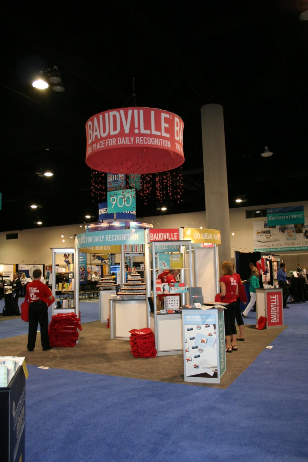 The Baudville Booth at SHRM