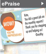 ePraise - Send free recognition ecards