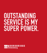 Outstanding Service is My Super Power