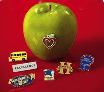 Shop Teacher Appreciation Lapel Pins