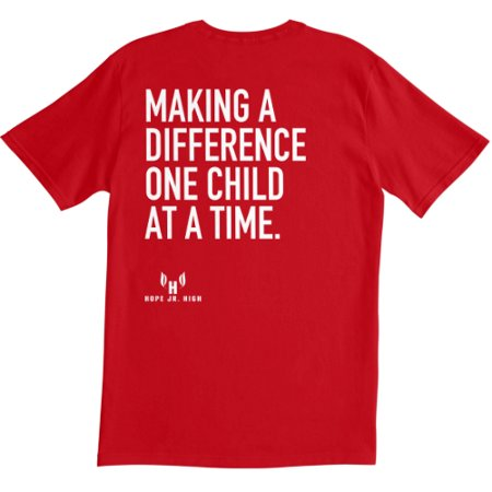 Making a Difference One Child at A Time Team Shirt