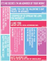 Download Free Valentine's Day Print-and-Posts