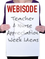 Cori will present some great ideas to appreciate your teacher and nurse staff for your upcoming events.