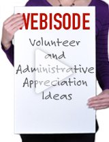 Get great ideas for celebrating National Volunteeer Week and Administrative Professional's Week.