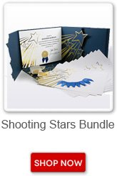Shooting Stars bundle. Shop now button