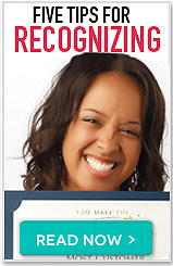 Five tips for recognizing. Read now button