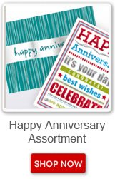 Happy Anniversary Assortment. Shop now button