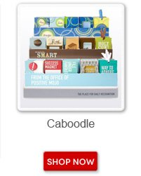 Caboodle. Shop now button