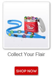 Collect your flair. Shop now button