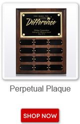 Perpetual Plaque. Shop now button