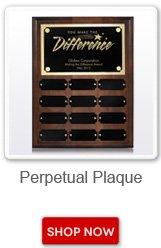 Perpetual Plaque. Shop now button