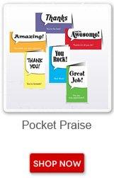 Pocket Praise. Shop now button