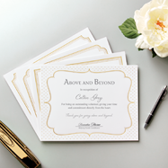 Shop certificates