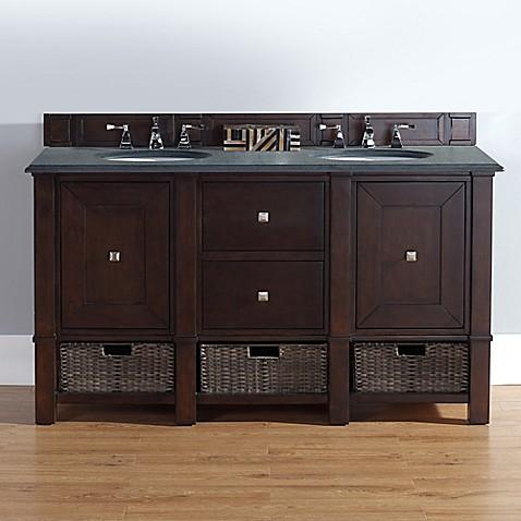 Martin Furniture Madison  Inch Double Vanity In Burnished Mahogany