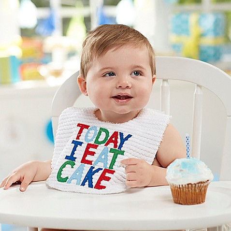 Today I Eat Cake Bib