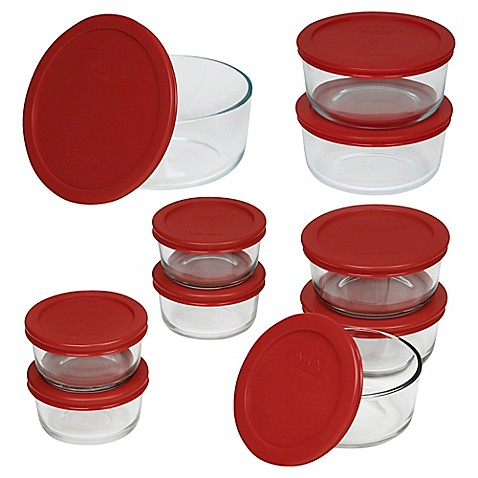 Pyrex® Simply Store™ Round 20pc Storage Set by Bed Bath And Beyond