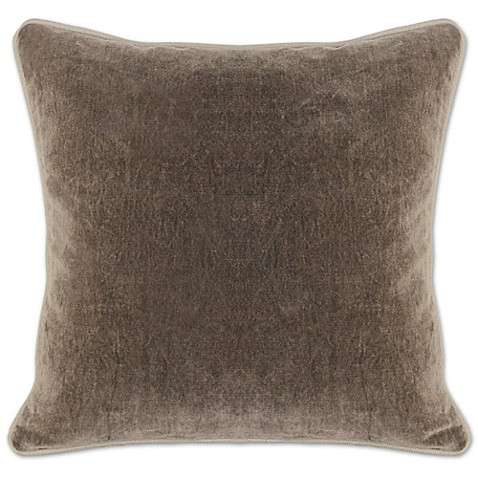 Villa Home Heirloom Velvet Square Throw Pillow - Bed Bath & Beyond