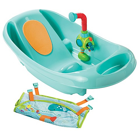 buy summer infant my fun infant to toddler bath tub in blue from bed bath beyond. Black Bedroom Furniture Sets. Home Design Ideas