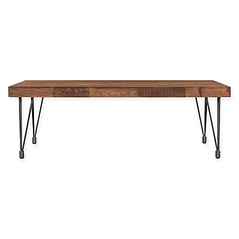 Moes Home Collection Boneta Coffee Table In Natural Bed