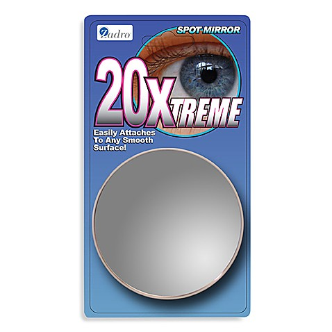 Buy Zadro 20x Magnifying Spot Mirror From Bed Bath Amp Beyond