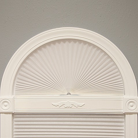 Redi Arch Pleated Fabric Window Shade at Bed Bath & Beyond in Cypress, TX | Tuggl