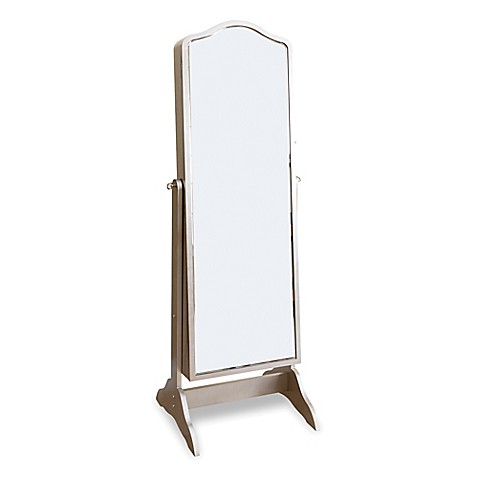 Buy abbyson living sophie standing mirror jewelry armoire for Standing glass mirror