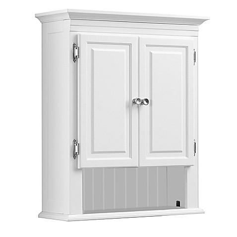 wakefield wall cabinet bed bath beyond. Black Bedroom Furniture Sets. Home Design Ideas