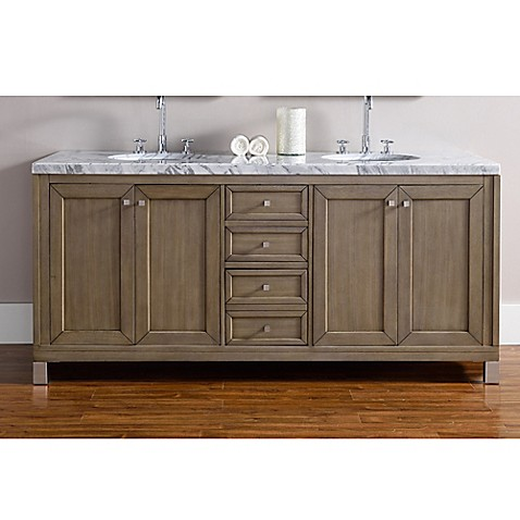Buy James Martin Furniture Chicago 72 Inch Double Vanity In Walnut From Bed Bath Beyond