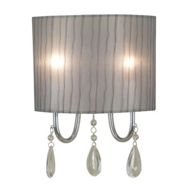 Wall Lamps Bed Bath Beyond : Kenroy Home Arpeggio 2-Light Wall Sconce in Chrome - Bed Bath & Beyond