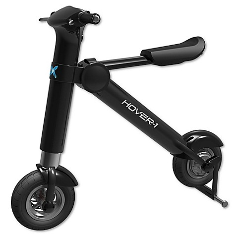 HYPE™ Hover1 Folding Electric Scooter in Black at Bed Bath & Beyond in Cypress, TX | Tuggl