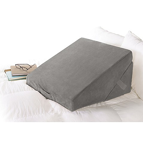 Brookstone® 4-in-1 Bed Wedge Pillow at Bed Bath & Beyond in Cypress, TX | Tuggl