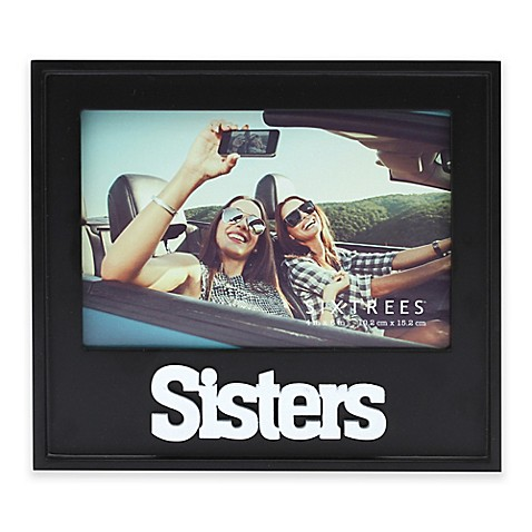 """Six Trees """"Sisters"""" 4-Inch x 6-Inch Picture Frame at Bed Bath & Beyond in Cypress, TX 