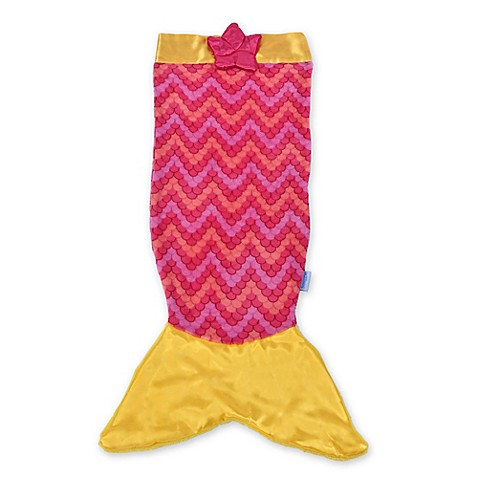 Snuggie 174 Tails Children S Mermaid Blanket In Pink From
