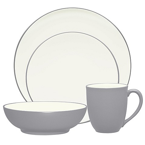 Noritake® Colorwave Coupe Dinnerware Collection in Slate at Bed Bath & Beyond in Cypress, TX | Tuggl