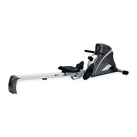 Sunny Health & Fitness Ultra Tension Magnetic Pro Rower in Grey at Bed Bath & Beyond in Cypress, TX | Tuggl