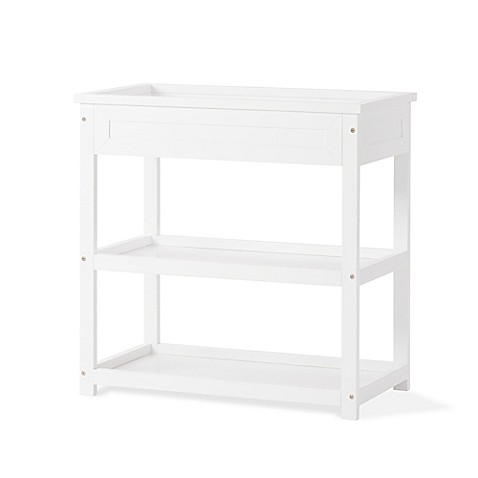 child craft abbott changing table in white buybuy baby. Black Bedroom Furniture Sets. Home Design Ideas
