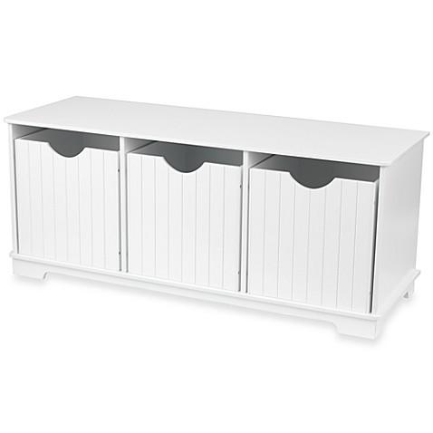 Kidkraft Nantucket White Storage Bench Bed Bath Beyond