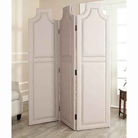 Buy Safavieh Darcy Room Divider Screen In Taupe From Bed