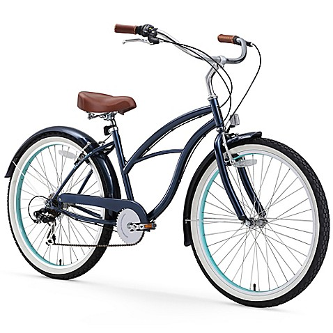 "sixthreezero Women's Classic Edition 26"" Seven Speed Beach Cruiser Bicycle at Bed Bath & Beyond in Cypress, TX 