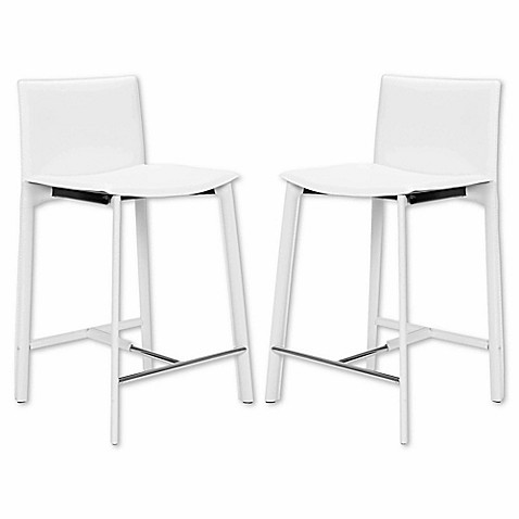 Buy Safavieh Janet Counter Stool In White From Bed Bath