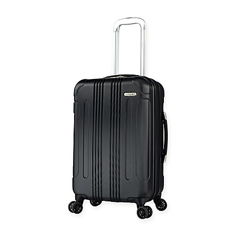Travelers Club® Voyager Ii Hardside 20 Inch Spinner Carry On In Black by Bed Bath And Beyond