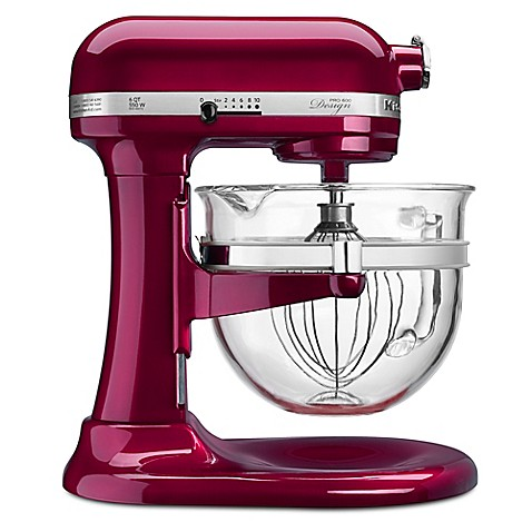 Kitchenaid 6 qt glass bowl stand mixer bed bath beyond - Kitchenaid glass bowl attachment ...