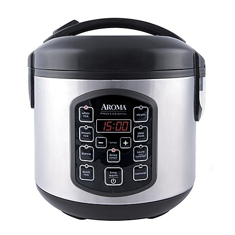 Aroma® Professional™ Cool Touch 8-Cup Rice Cooker in