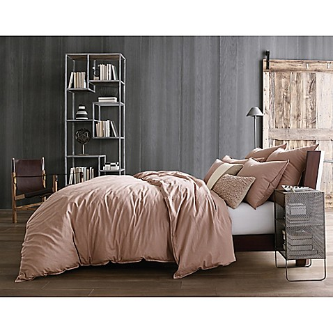 Buy Kenneth Cole Reaction Home Mineral Twin Duvet Cover In