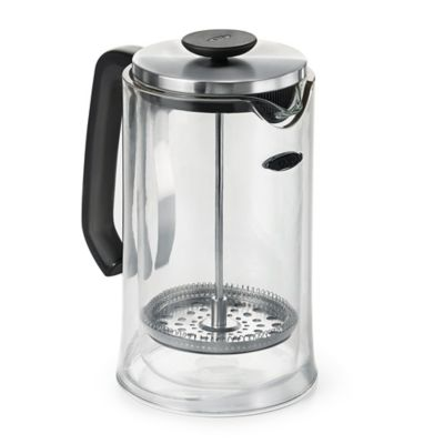 Oxo Coffee Maker Bed Bath And Beyond : OXO Good Grips 8-Cup French Press Coffee Maker in Clear - Bed Bath & Beyond