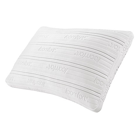 Serta® iComfort Scrunch 3.0 Bed Pillow in White at Bed Bath & Beyond in Cypress, TX | Tuggl