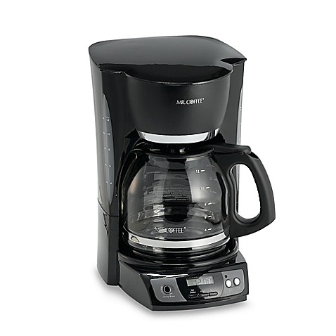 mr coffee 174 12 cup programmable coffee maker in black