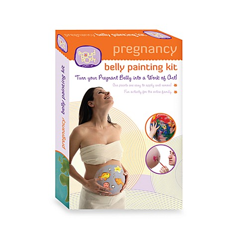 Pregnancy Belly Painting Kit by ProudBody Pregnancy Art ...