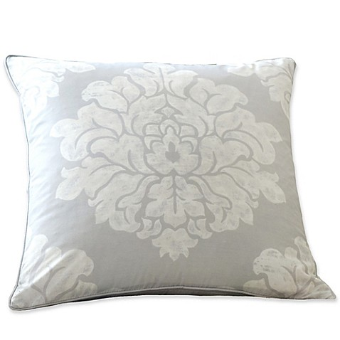 Buy Sanderson Amelia Rose Printed Throw Pillow in Purple from Bed Bath & Beyond