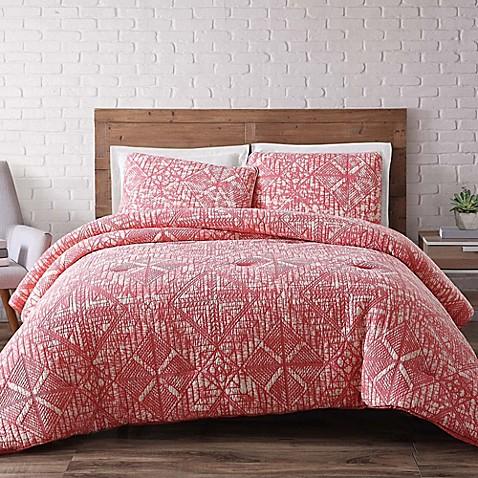 Buy brooklyn loom sand washed reversible king comforter for Brooklyn loom bedding